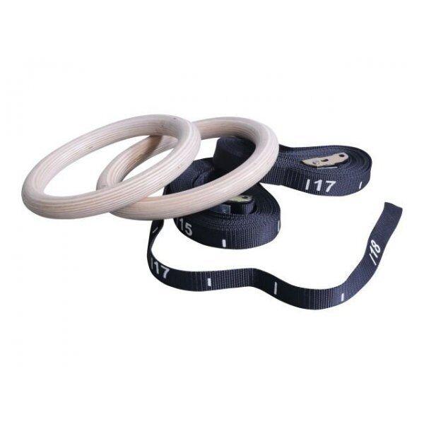 Wooden training ring set