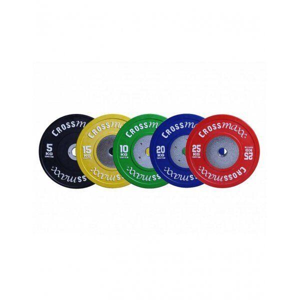 Crossmaxx competition bumper plate 50mm kleur