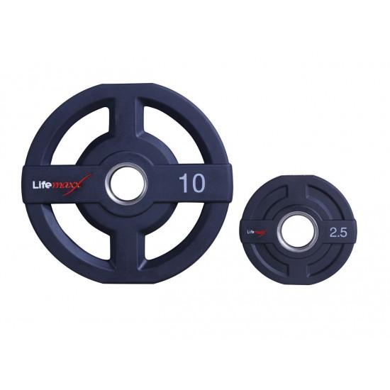 Lifemaxx PU Olympic disc 50mm