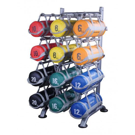 Challenge bag rack