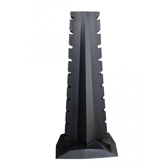 Lifemaxx PU Dumbbell tower