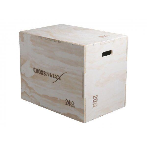 Crossmaxx Wooden plyo box (3 level)