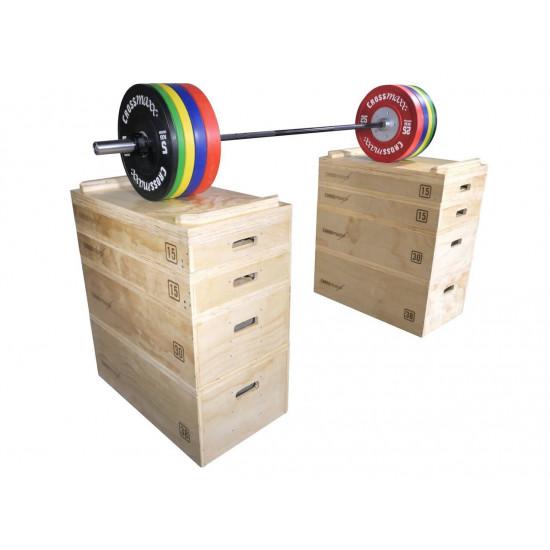Crossmaxx wooden jerk block set