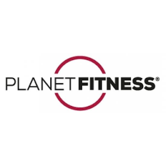 Planet Fitness Fitness mat met oogjes