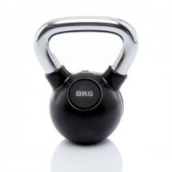 Kettlebell Rubber/Chrome