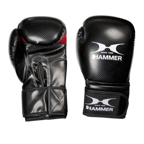 Bokshandschoenen Hammer X-shock (rood of zwart)