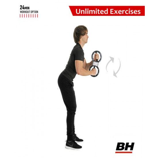 BH Fitness Unlimited Bokswiel 10kg