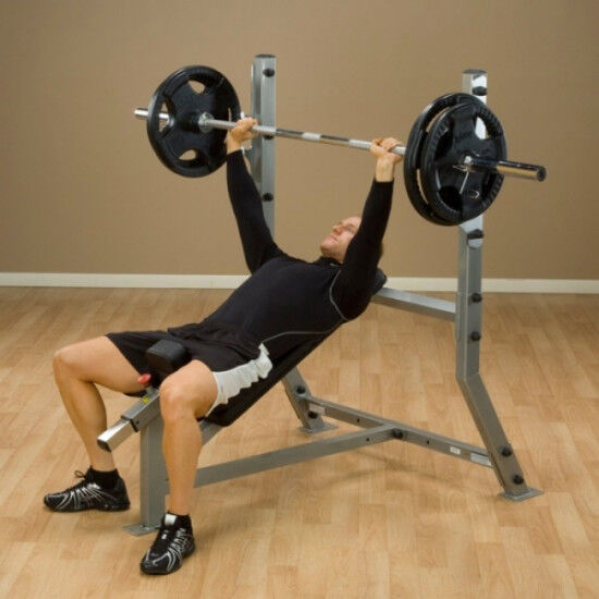 Pro Clubline Incline Olympische Bench SIB359G