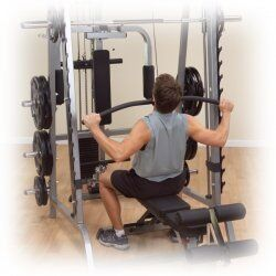 Selectorized Lat attachment GLA348  for Body-Solid Smith machine