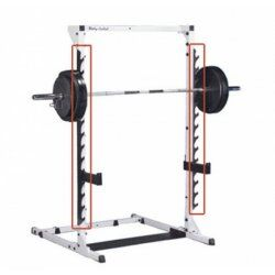 Body Solid Power Center Gun Rack with 14 positions