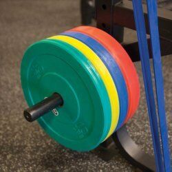 Weight plate horn voor het SPR1000 Power Rack