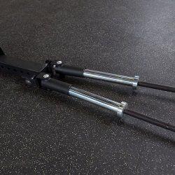 Dual T-Bar Row voor het SPR1000 Power Rack