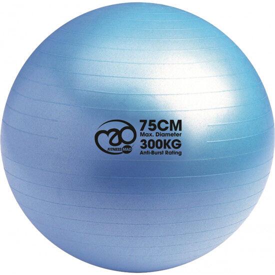 Swiss Ball 300 kg, 75 cm zonder pomp en DVD
