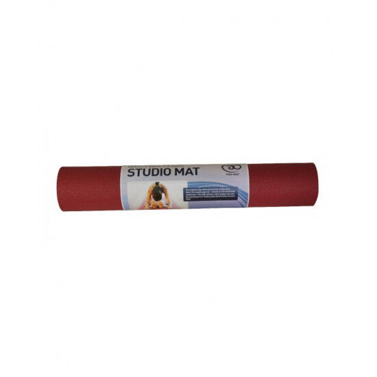 Studio Yoga Mat 183cmx60cmx4,5mm Rood