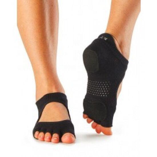 Toesox sokken zonder tenen Prima Bellarina Zwart S/M