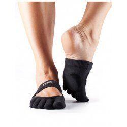 ToeSox Dans Sokken met Tenen Releve | Zwart