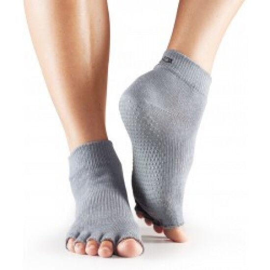 Toesox Sokken zonder tenen |  Grijs S/M/L