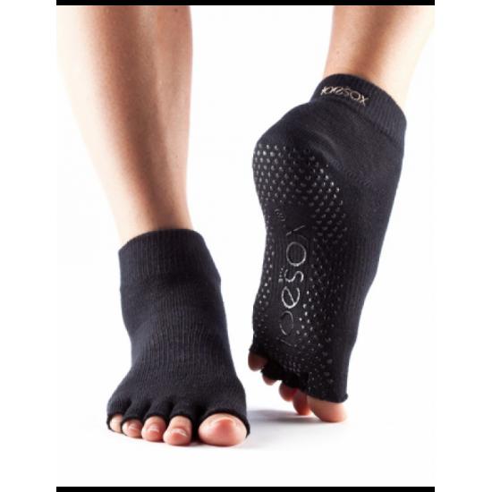 Toesox Sokken zonder tenen    Zwart