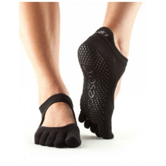 Bellarina sokken met tenen   Zwart S/M/L