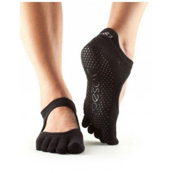 Bellarina sokken met tenen | Zwart S/M/L