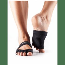 Toesox dans sokken zonder tenen Releve - Zwart