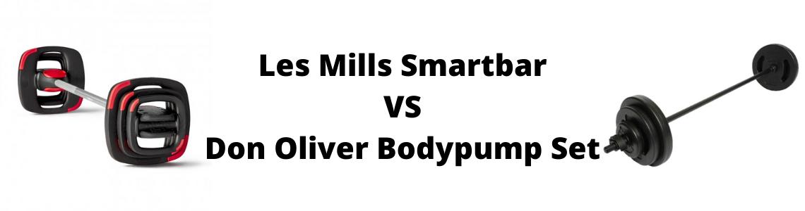 Les Mills Smartbar vs Don Oliver Bodypump Set