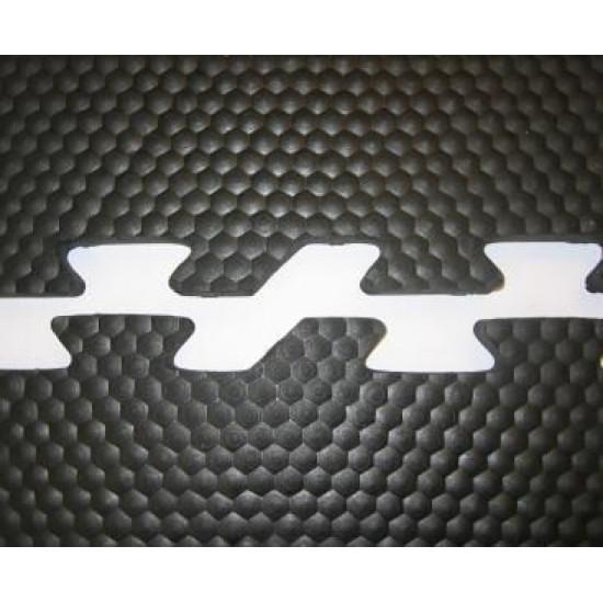 Rubber Interlock Puzzle Tile 100x100x1,5cm
