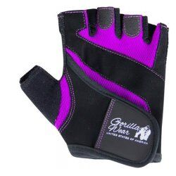 Gorilla Wear Womens Fitness Gloves Black-Purple
