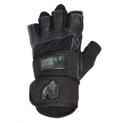 Gorilla Wear Dallas Wrist Wrap Gloves - Black