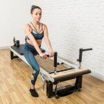 Pilates Reformer Planking Handgrepen
