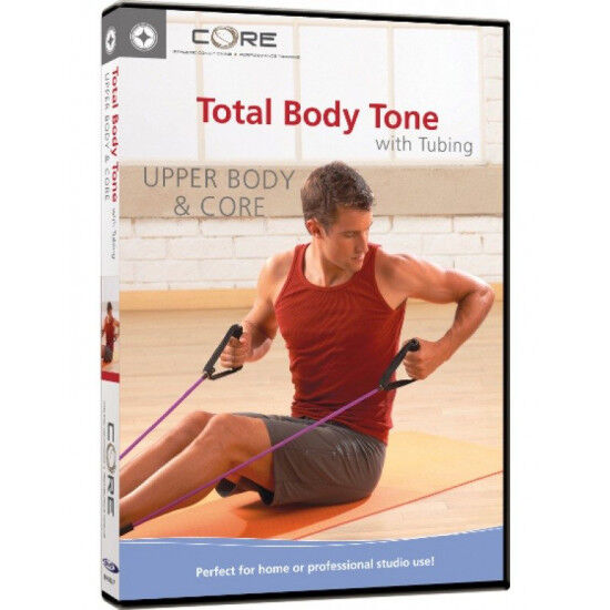 Stott DVD - Total Body Tone with Tubing, Upper Body - Core