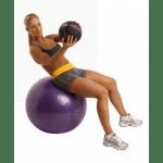Swiss Ball 500 kg, 75 cm met pomp