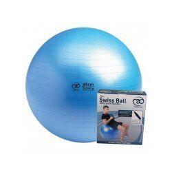 Swiss Ball | 300 kg, 65 cm met pomp en dvd