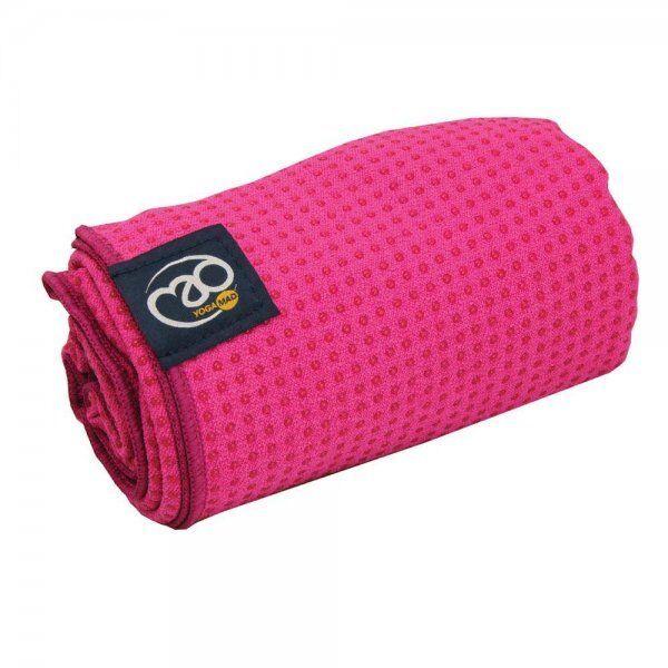 Anti slip handdoek mat Roze