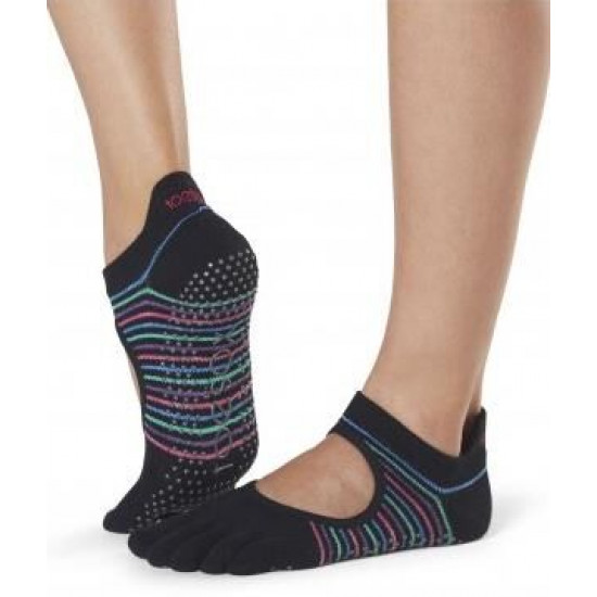 Antislip Sokken Enkel Met Tenen Dasher – ToeSox S/M