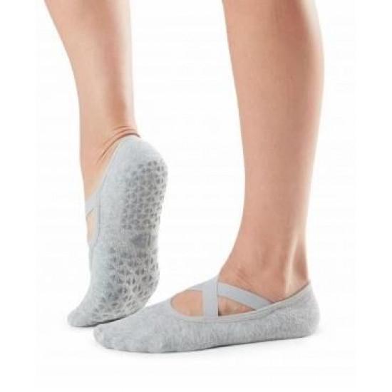 Antislip sokken Chloe in Stone - Tavi Noir S/M