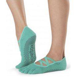 Antislip Sokken Elle Met Tenen Emerald – ToeSox