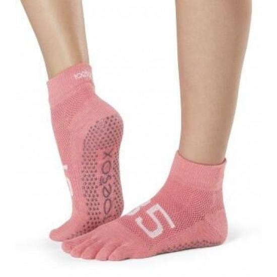 Antislip Sokken Met Tenen In Ace - ToeSox S/M