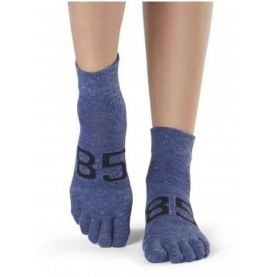 Antislip Sokken Met Tenen In Jersey - ToeSox S/M