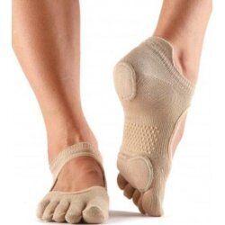 Antislip sokken met tenen prima bellarina Nude Toesox