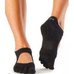 Antislip Sokken Met Tenen Prima Bellarina Zwart – ToeSox