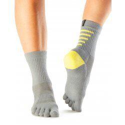 ToeSox sokken met tenen Sport Crew In Slate