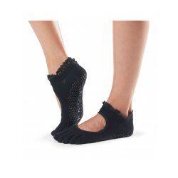 Antislip Sokken Bella Met Tenen In Midnight Lace - ToeSox