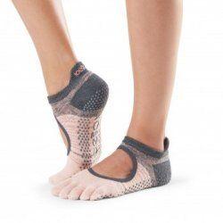 Antislip Sokken Enkel Met Tenen In Flurry - ToeSox