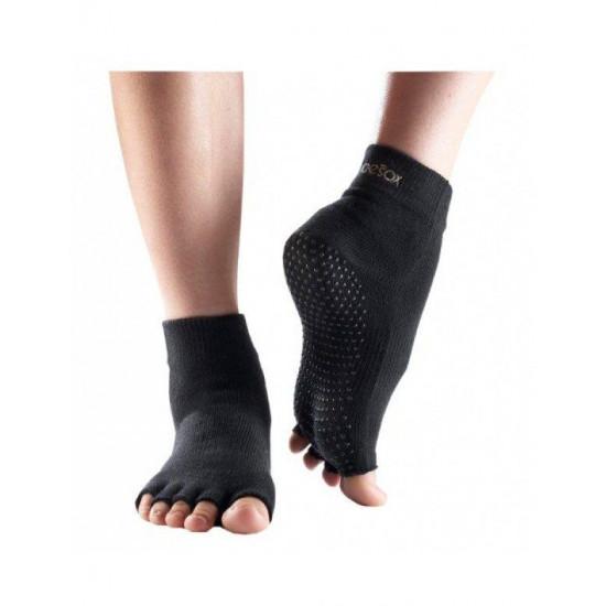 Sokken zonder Tenen Toesox Zwart S/M/L