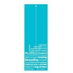 Pilates Yoga Mat Inspiration 173x61x0,6 cm
