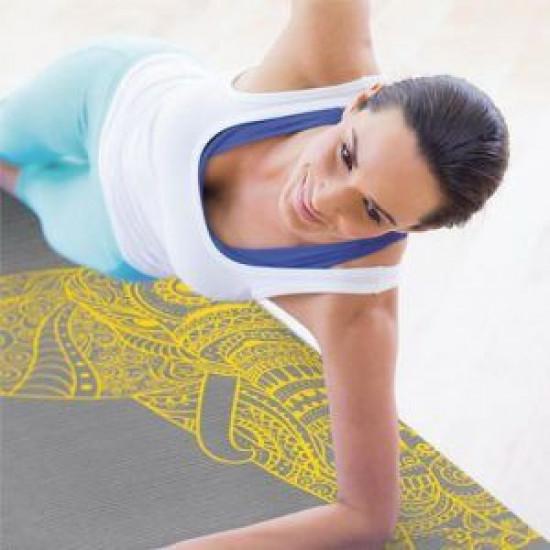 Pilates Yoga Mat Olifant 173x61x0,6 cm
