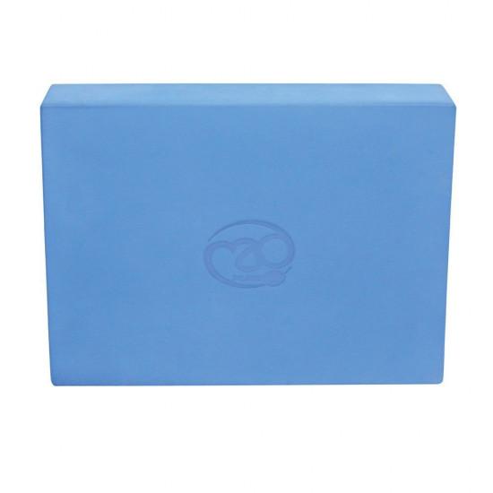 Pilates Blok Groot – Blauw 32x25x6 cm
