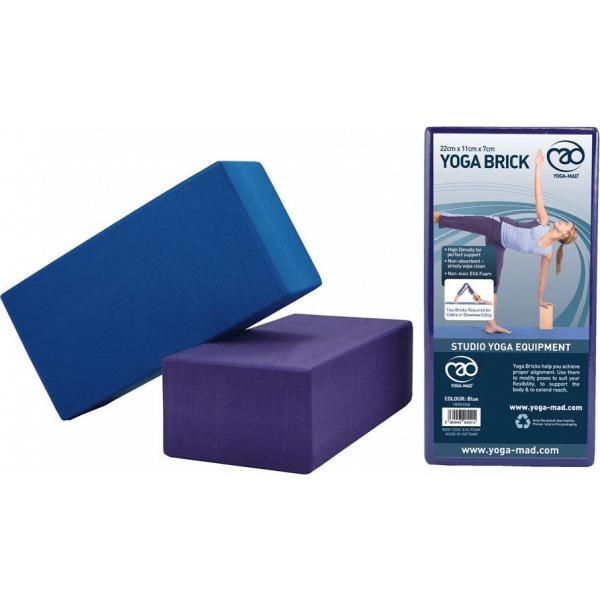 Yoga Blok Kunststof Blauw
