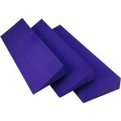 Yoga blok Wigvorm kunststof paars